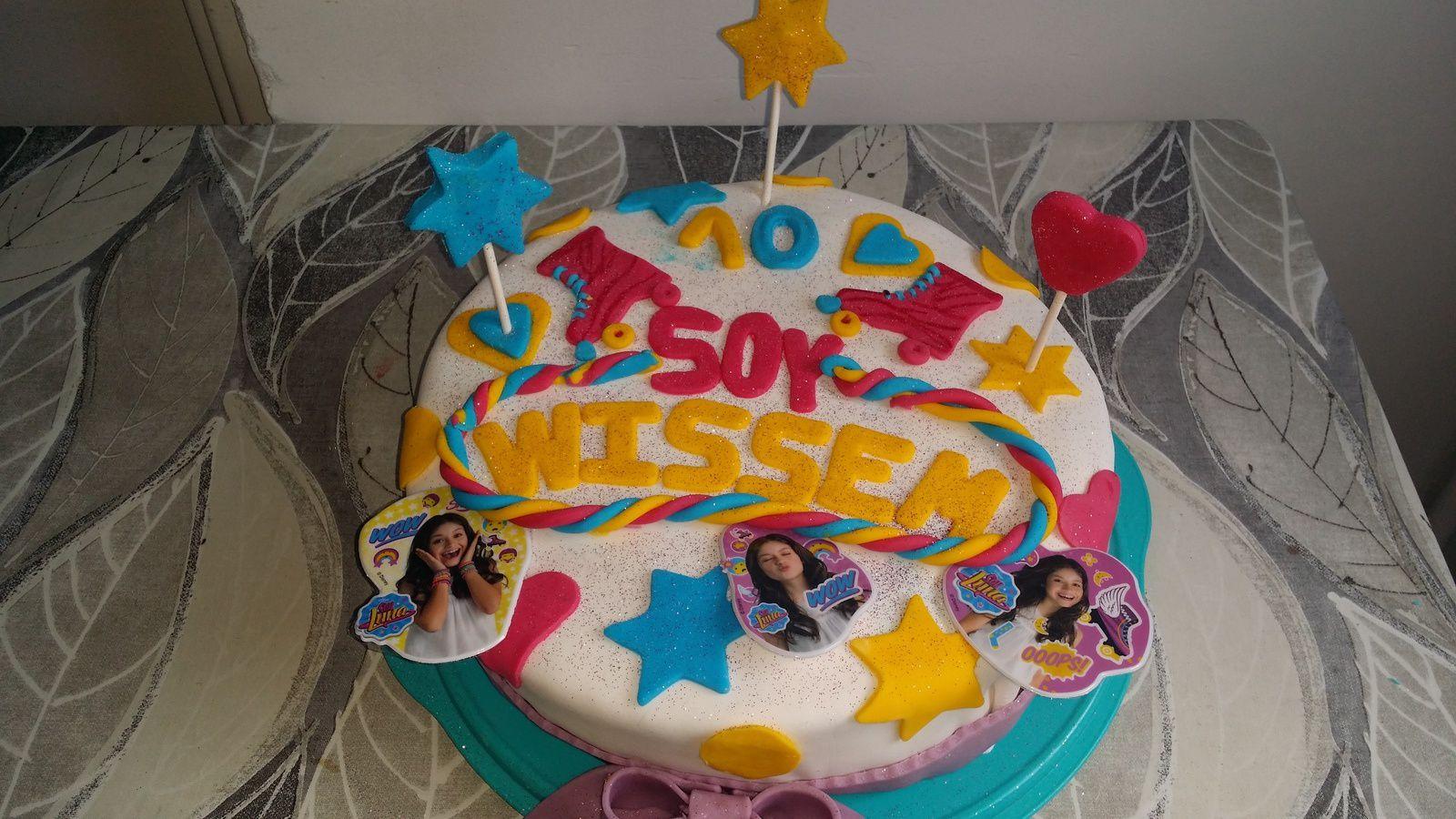 Gâteau anniversaire SOY LUNA