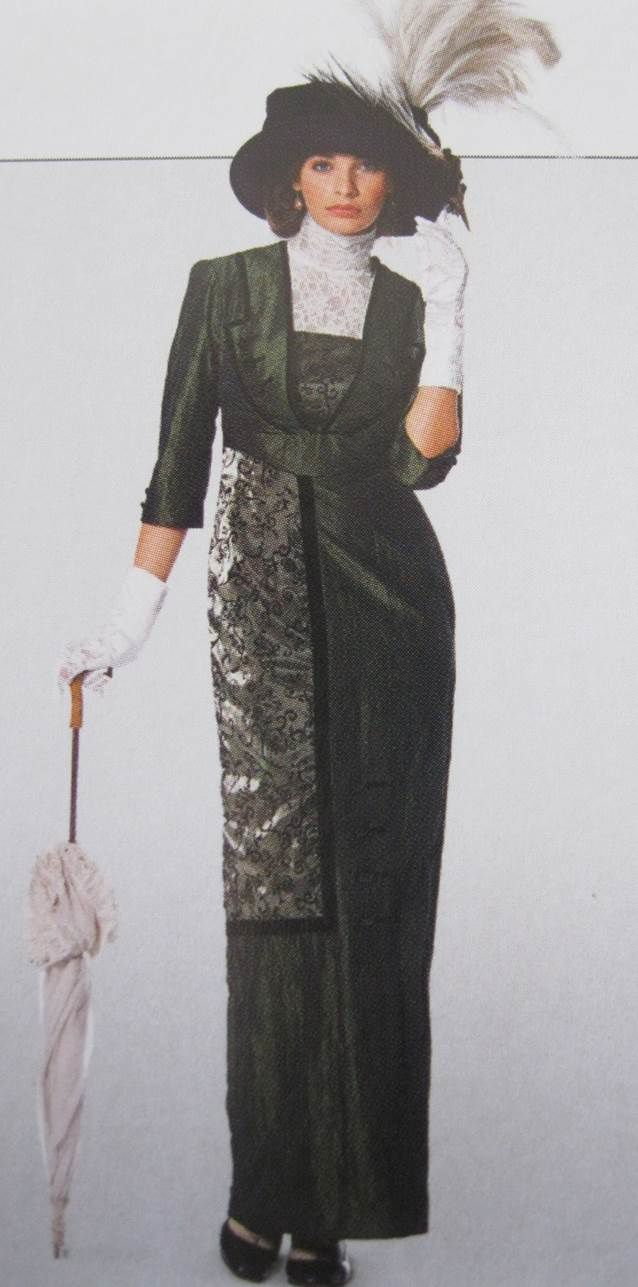 Robe Belle Epoque Burda