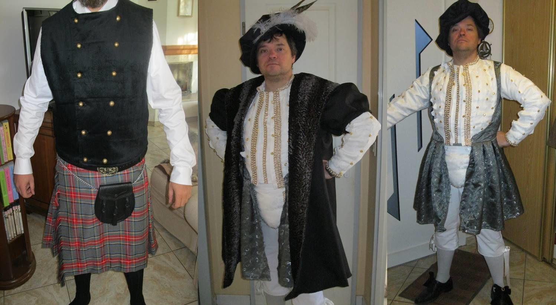 Costume Henri VIII pour le GN 1530