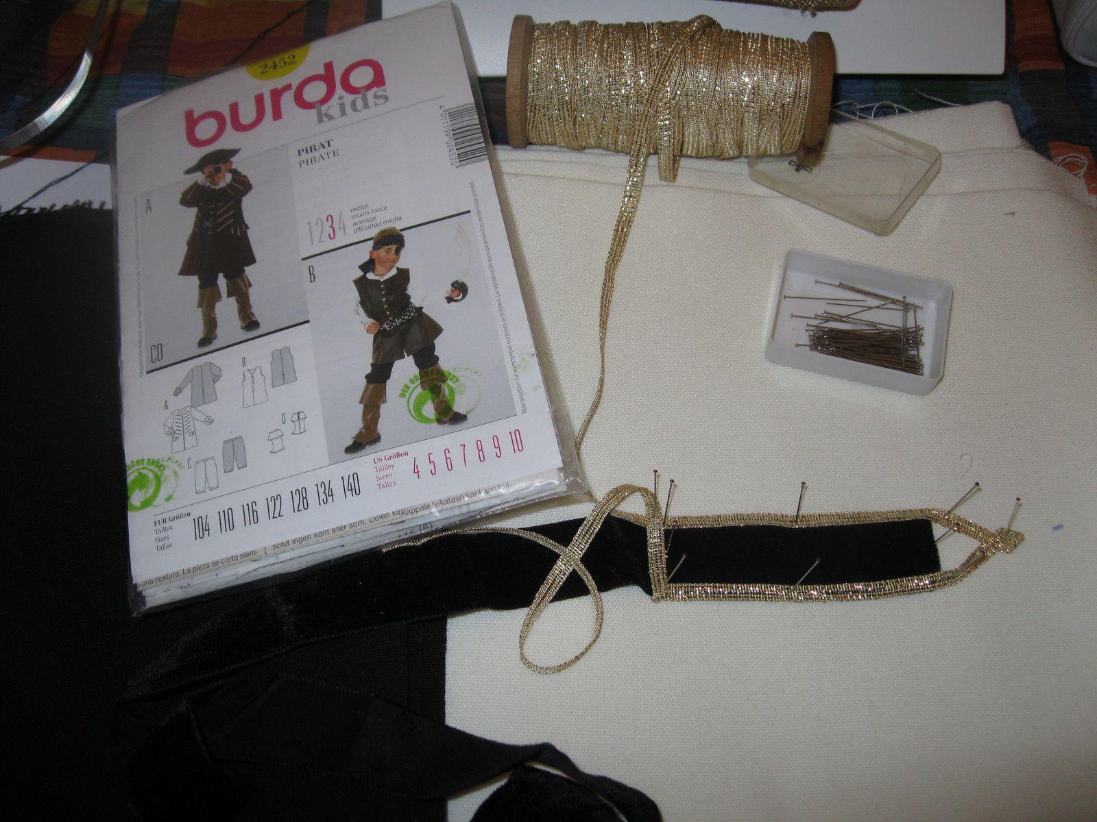 patchwork, feutrine et costume