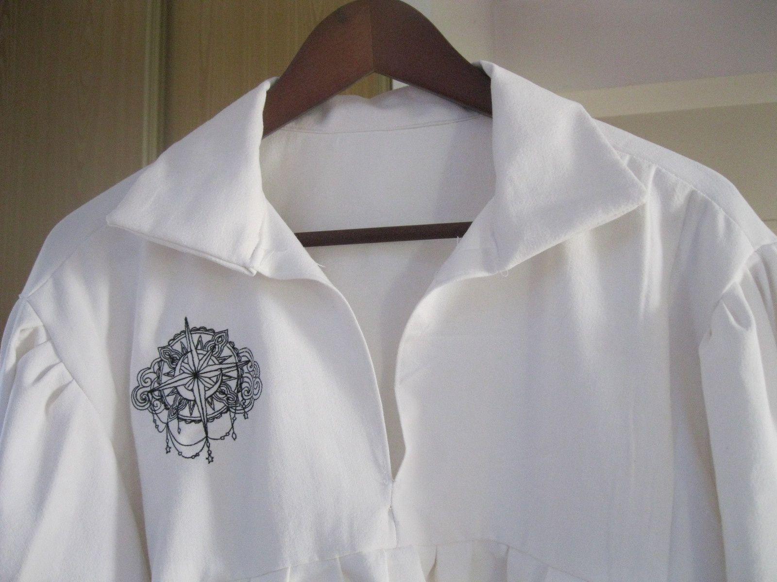 Manteau pirate n°3 et chemise