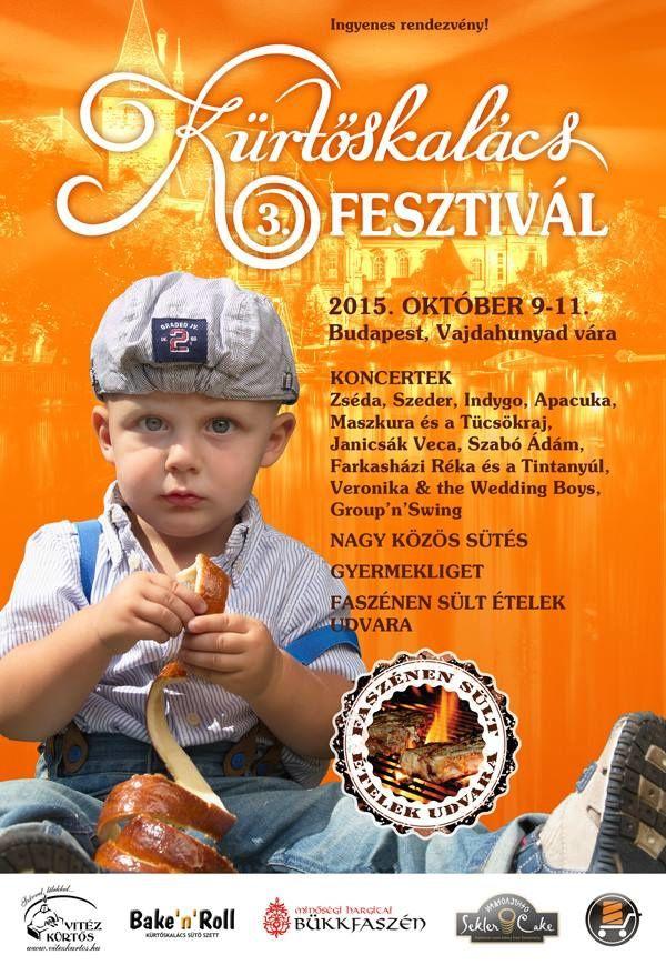 Le festival du kürtőskalács avait lieu du 9 au 11 octobre