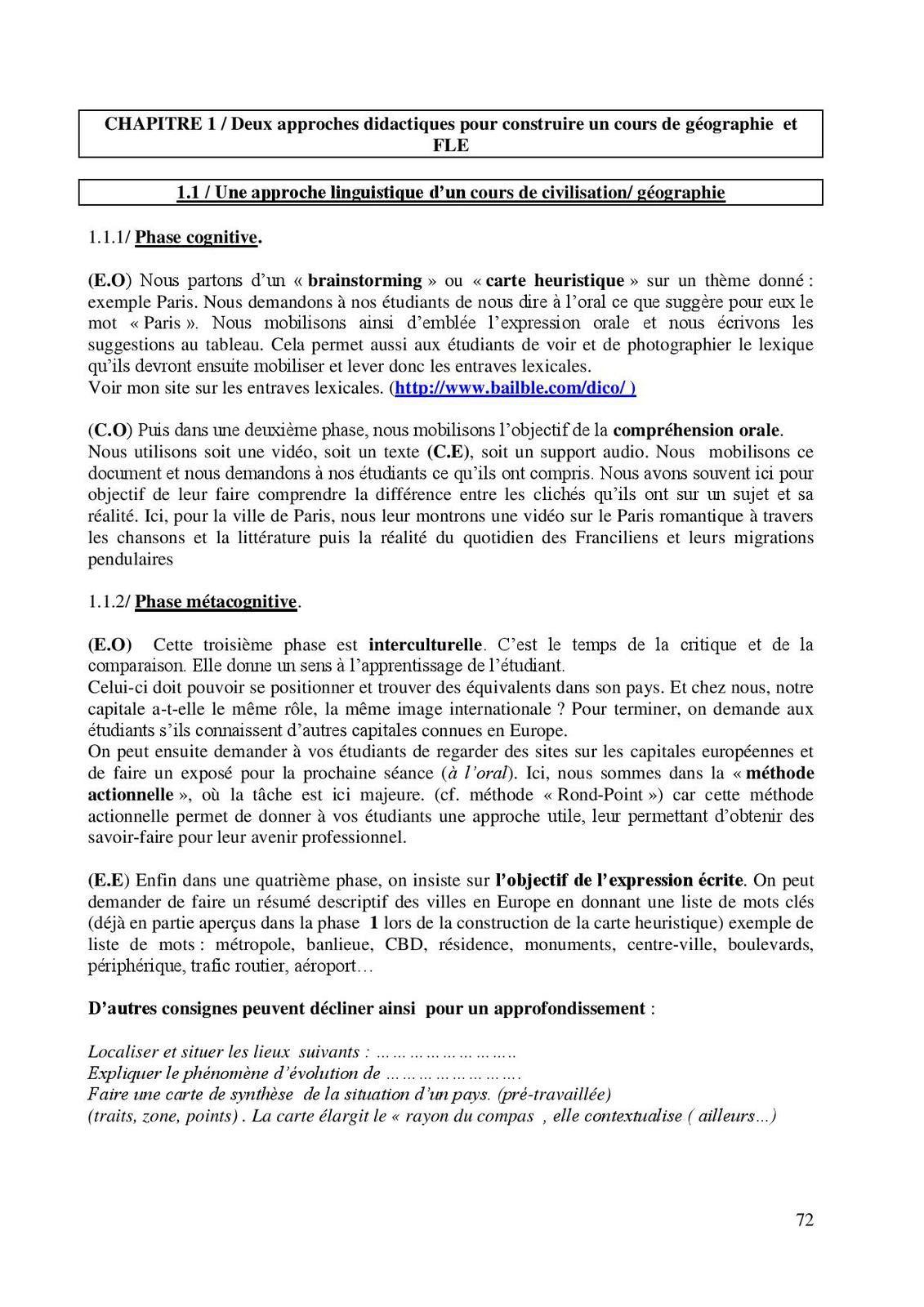 Manuel d'auto-formation de civilisation française par Eric Baiblé 3/5