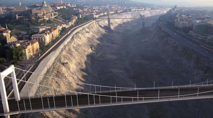 La bande-annonce du film &quot&#x3B;DVNA&quot&#x3B; montrant une catastrophe terrible touchant Budapest