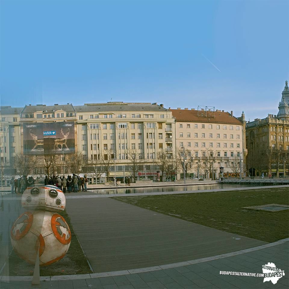 Le jour de Star Wars (May the 4th) à Budapest par Budapest Alternative