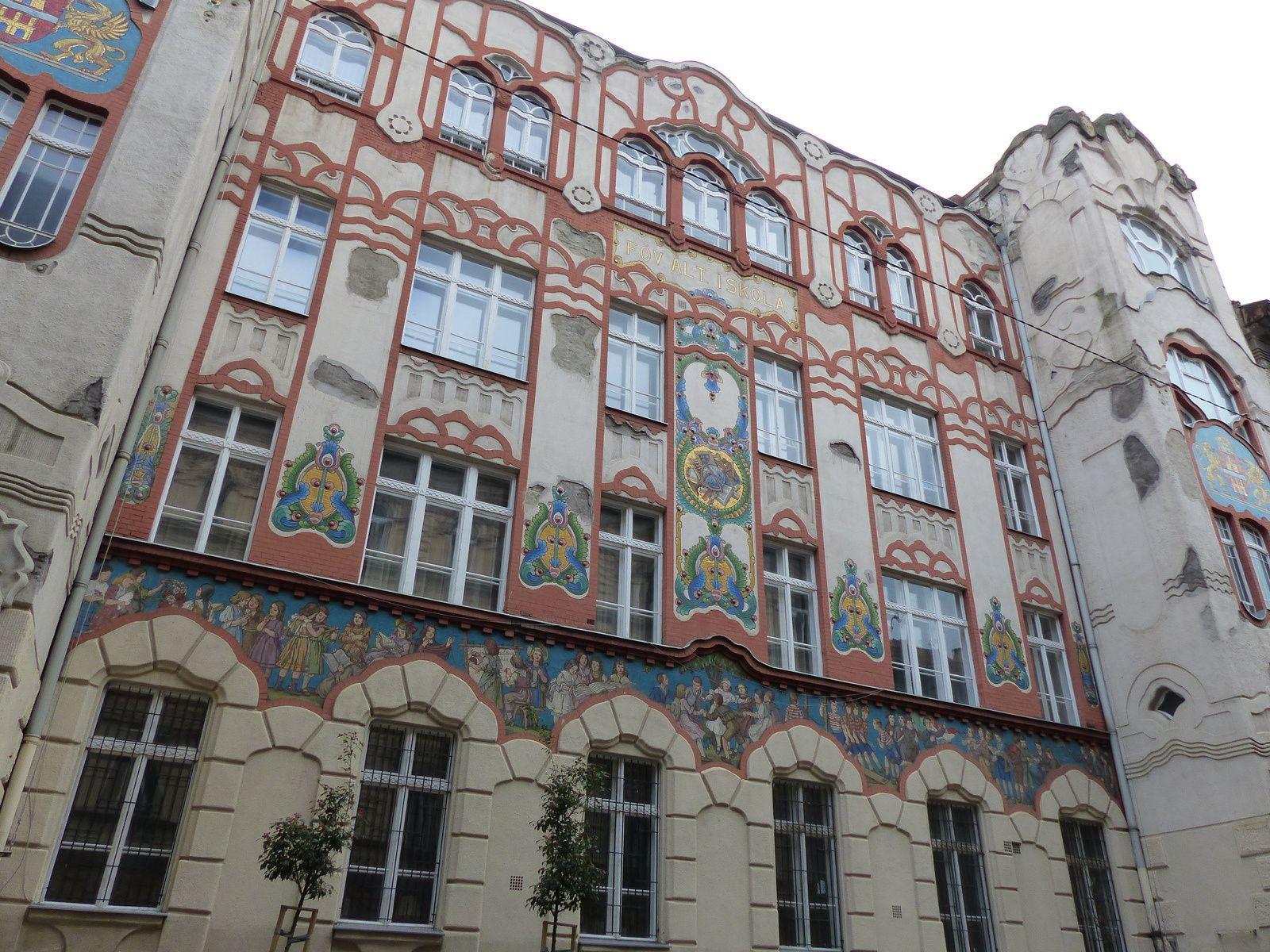 Une école Art Nouveau à Budapest