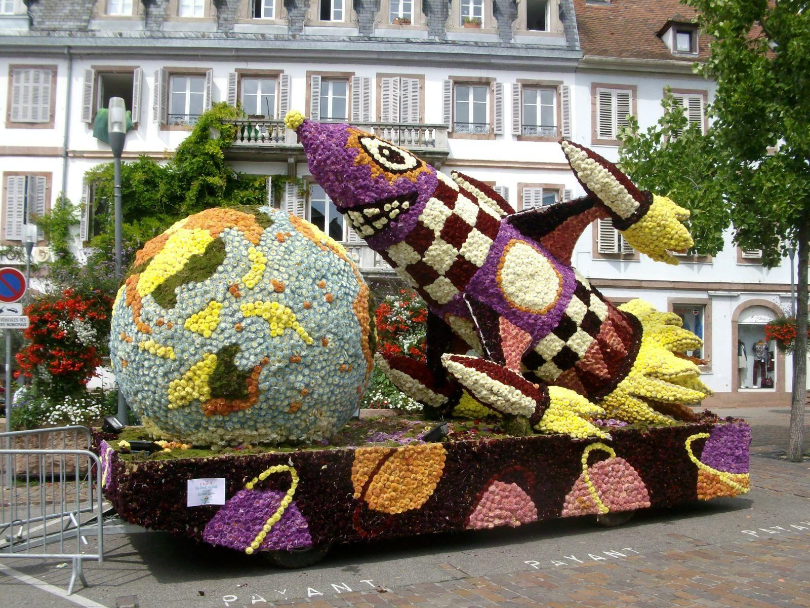 Corso fleuri de Séléstat 2014