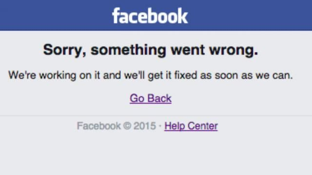 Facebook. Trois pannes en moins de trois semaines