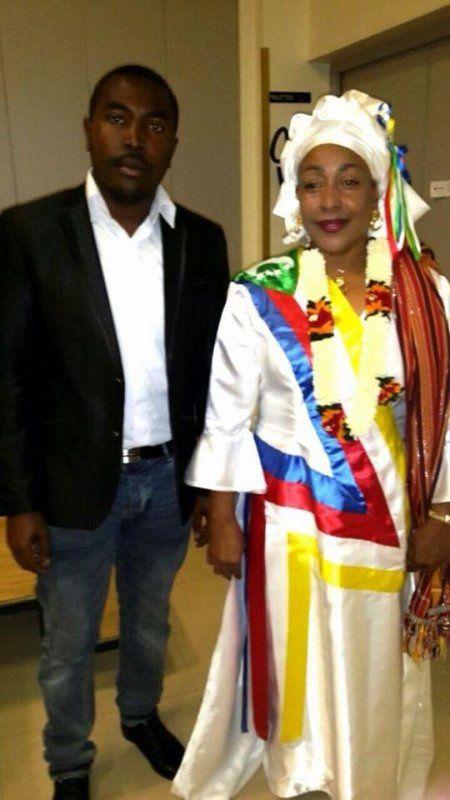 Le courrier présidentiel 2016: Madame Moinaecha DJALAL à Ouagadougou