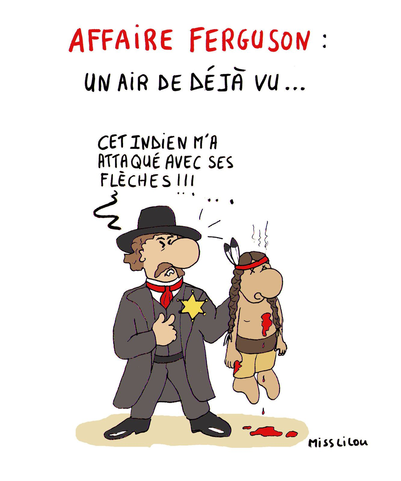 AFFAIRE FERGUSON : UN AIR DE DÉJÀ VU...