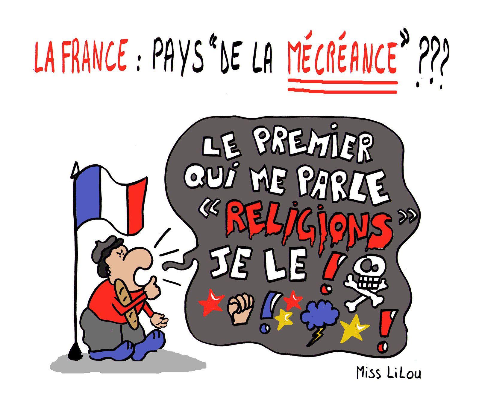 ( vraiment irrécupérables ces Français ! ;-))