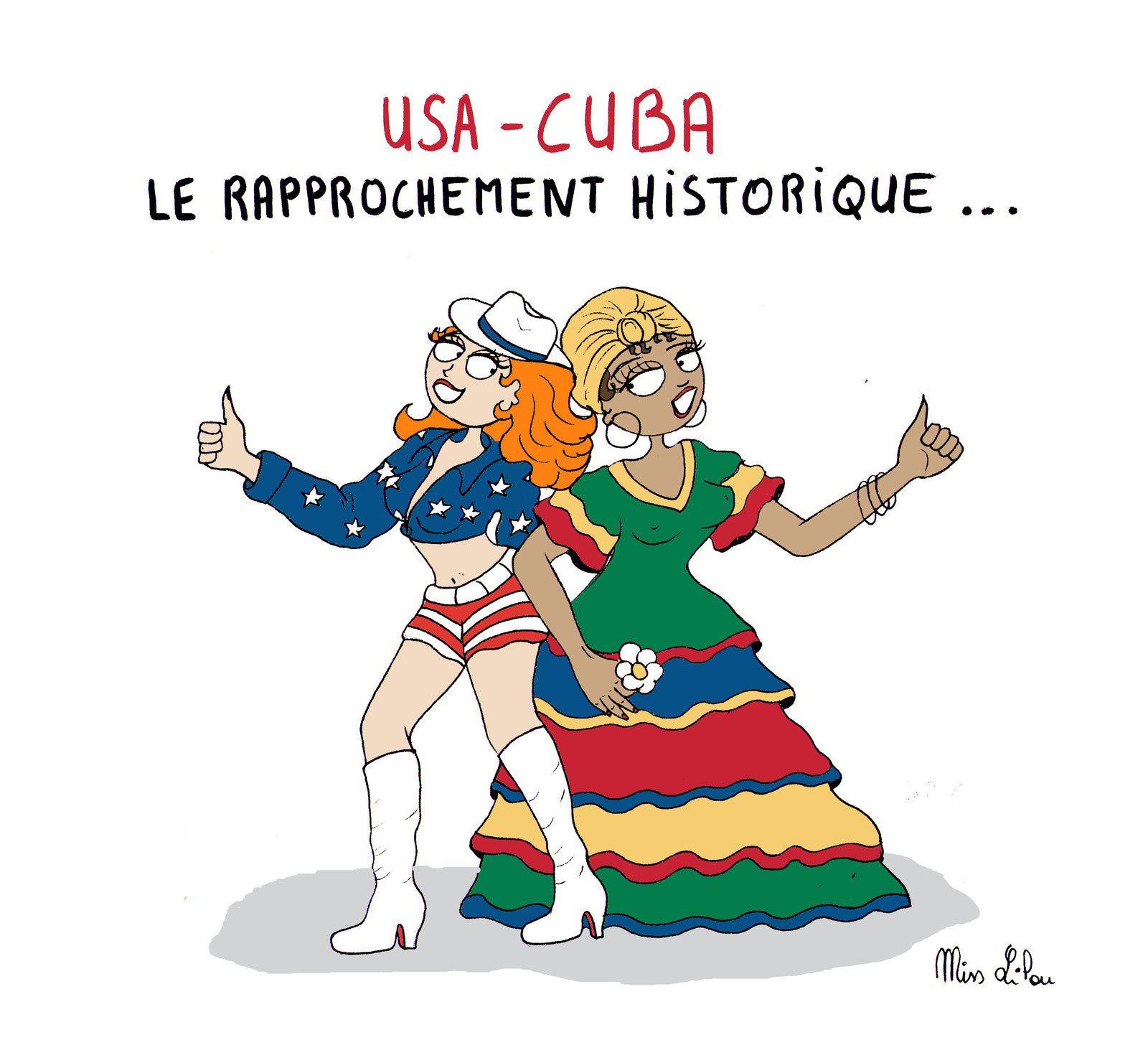 USA-CUBA : LE RAPPROCHEMENT HISTORIQUE !
