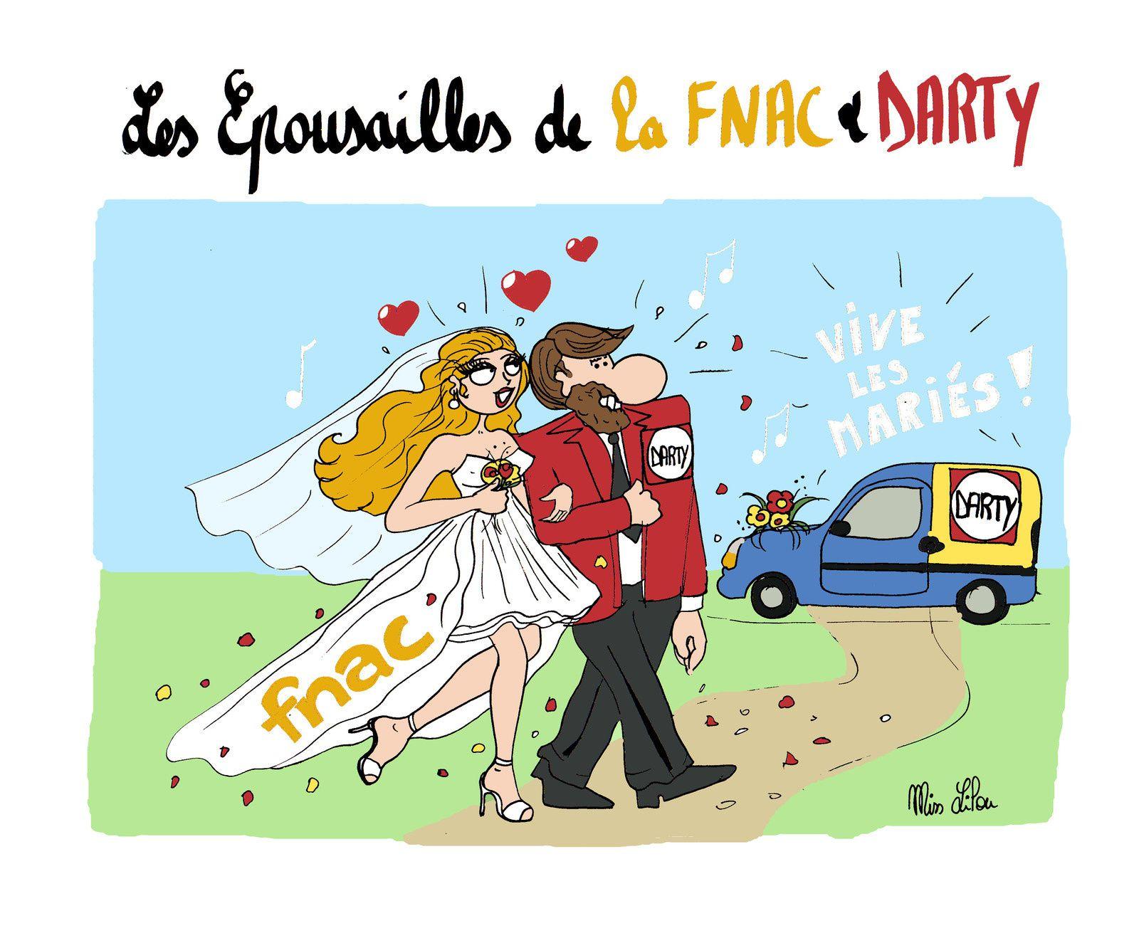 Les Épousailles de la FNAC &amp&#x3B; DARTY...