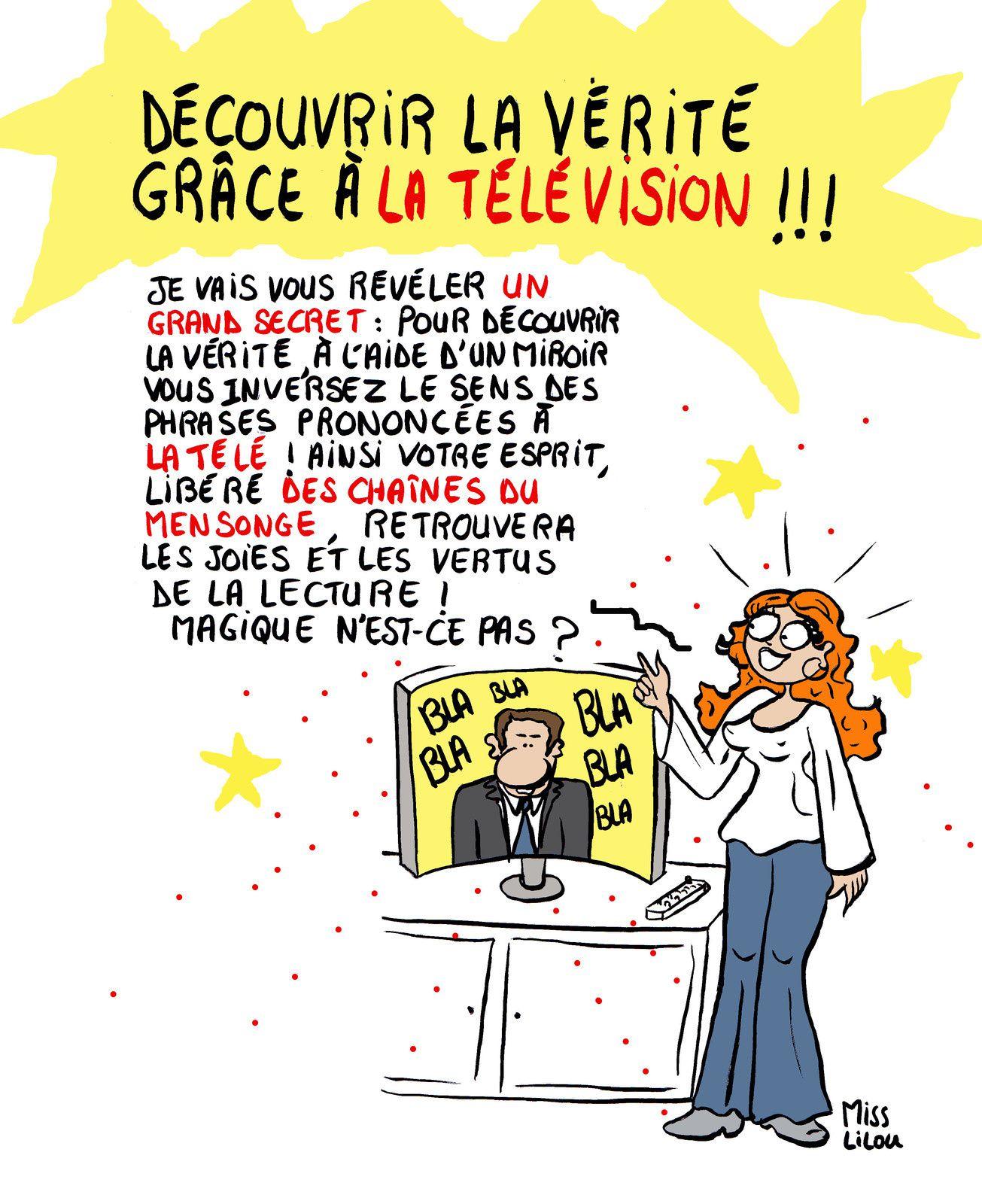&quot&#x3B;Découvrir la Vérité grâce à la Télévision !&quot&#x3B;