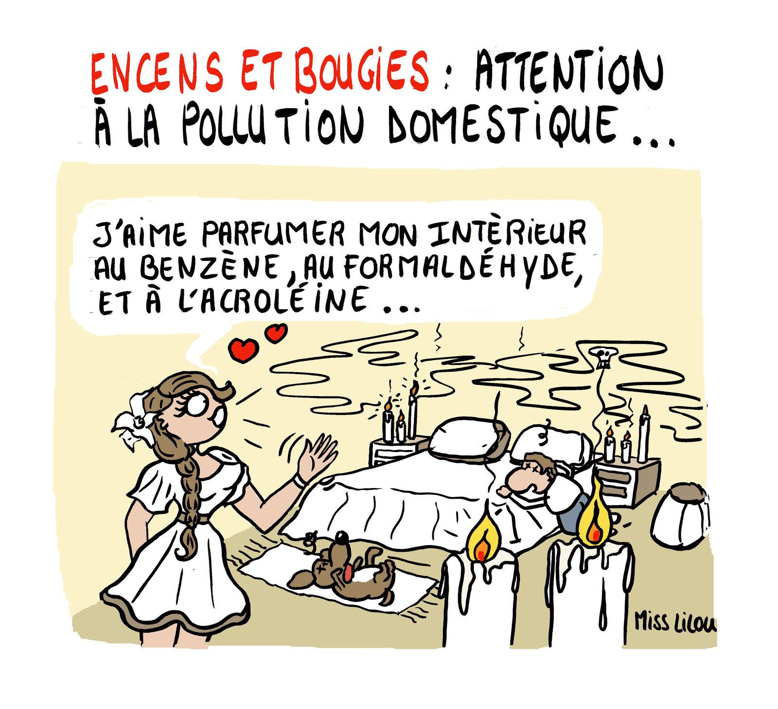 ENCENS &amp&#x3B; BOUGIES : attention à la pollution domestique...