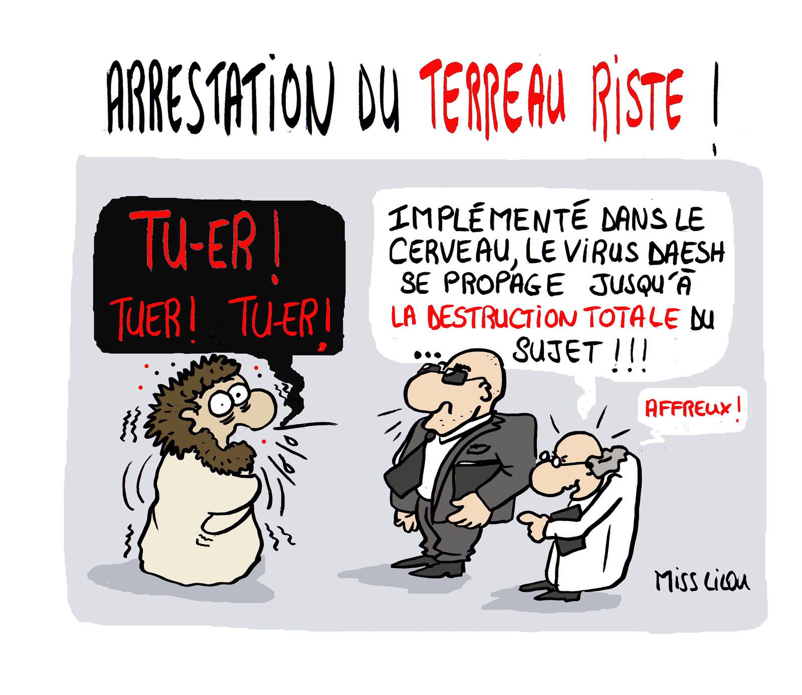 Arrestation du Terreau Riste !