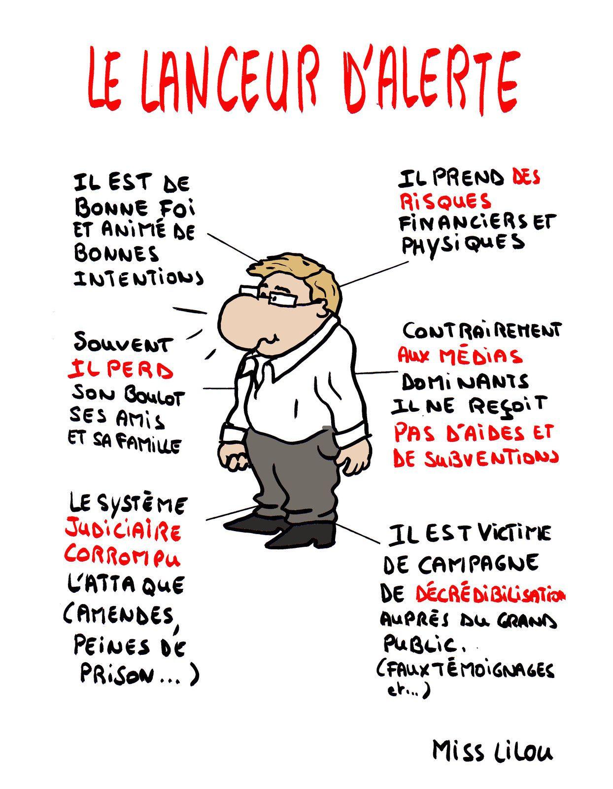 LE LANCEUR D'ALERTE...