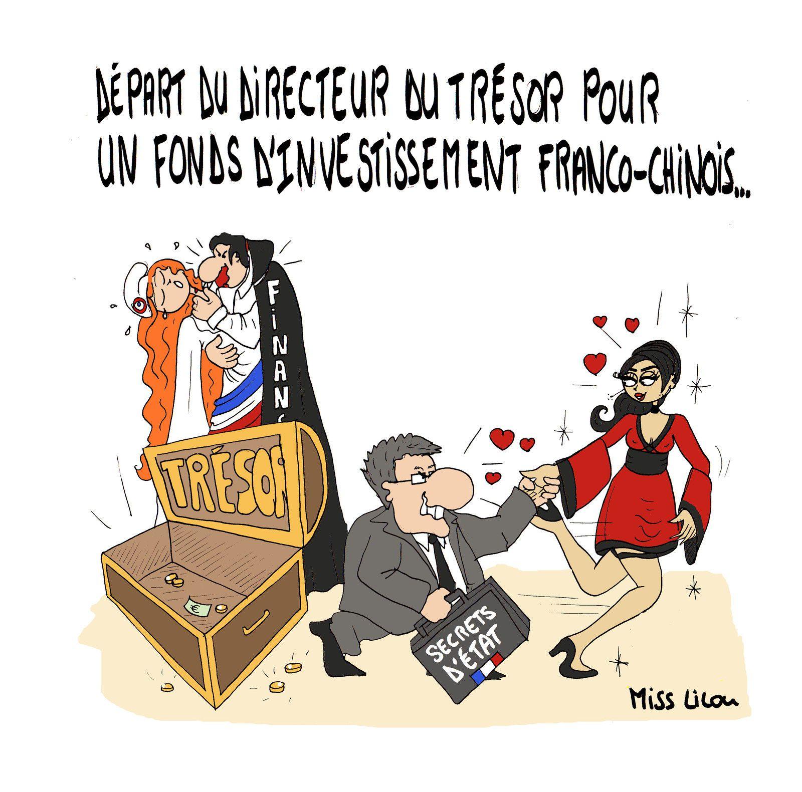 Départ du Directeur du Trésor pour un fonds d'investissement franco-chinois...