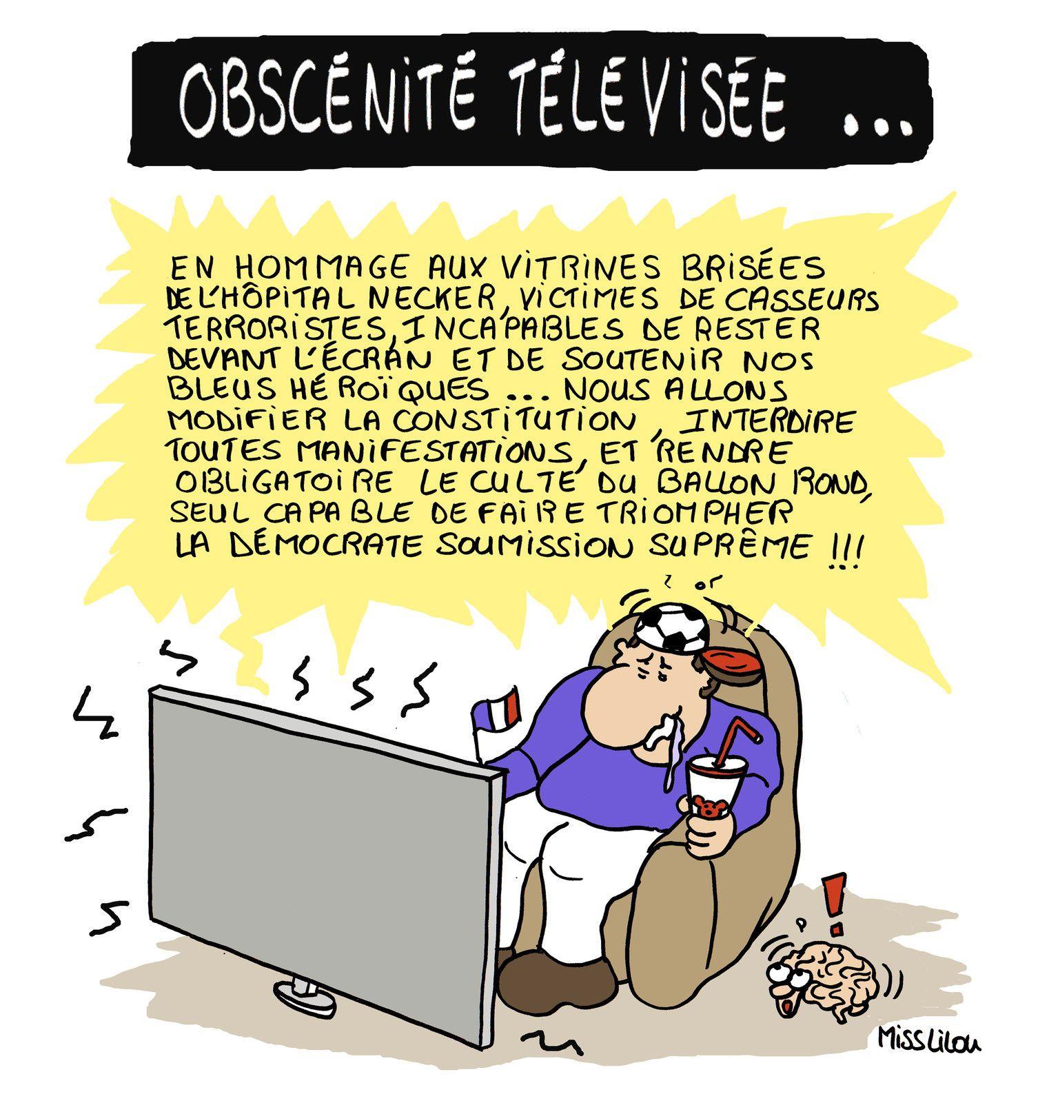 Obscénité télévisée...