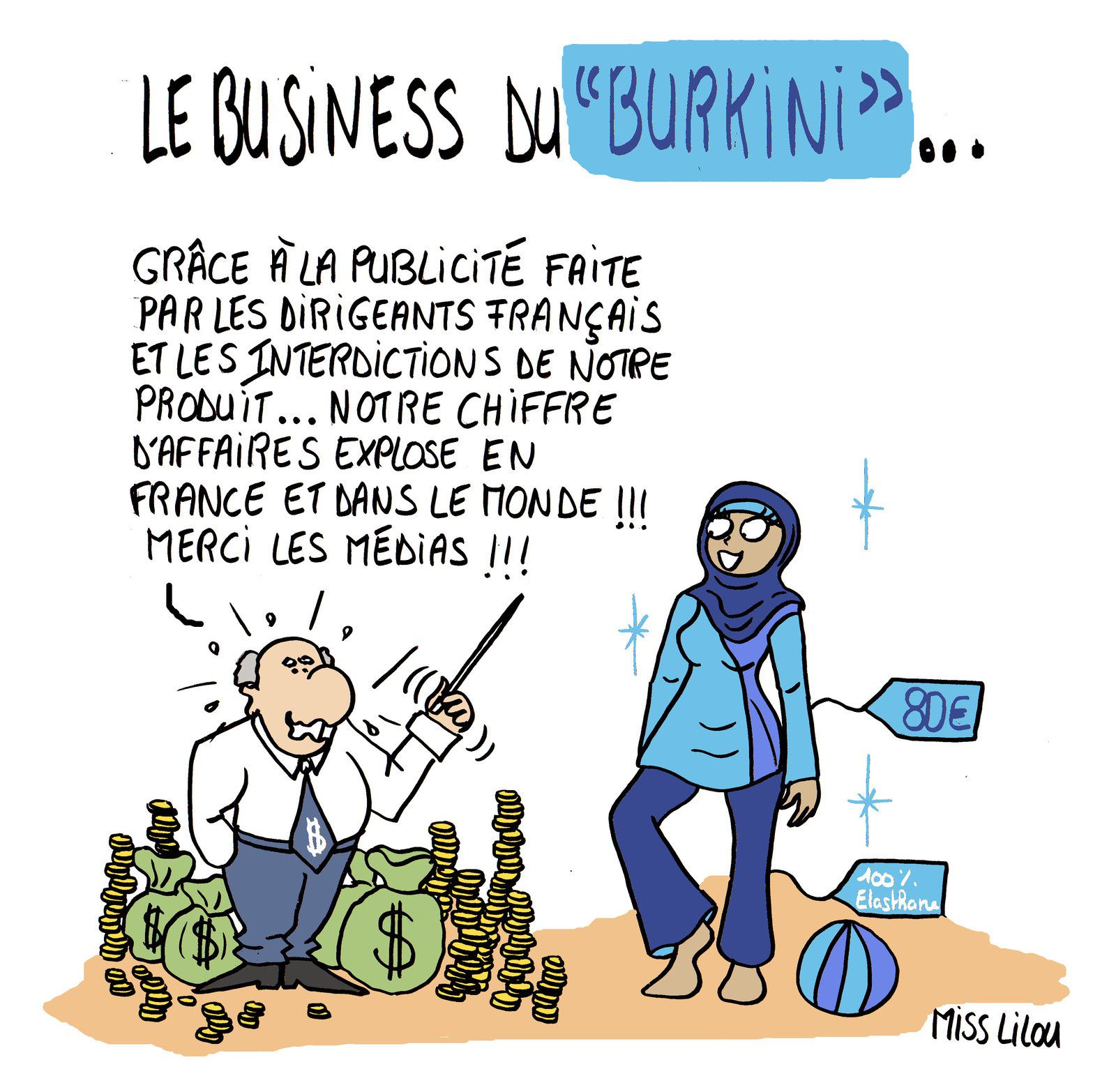 Le Business du &quot&#x3B;Burkini&quot&#x3B; !