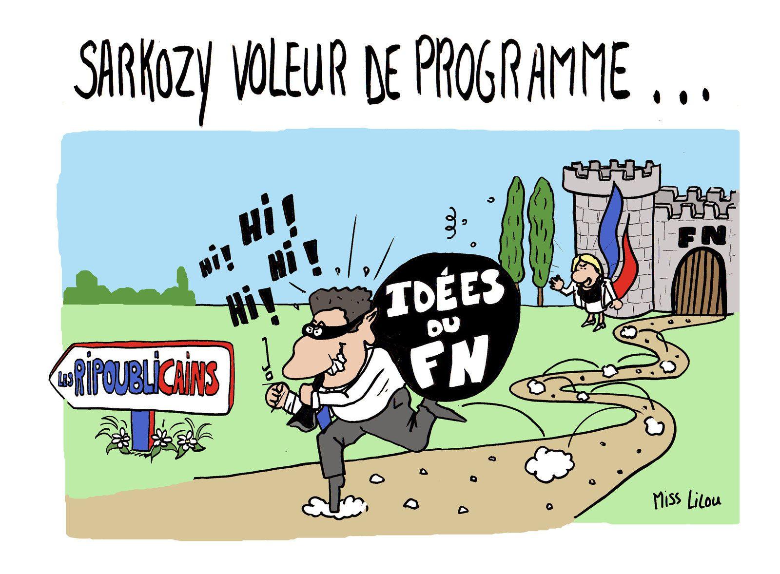 Sarkozy : voleur de programme !