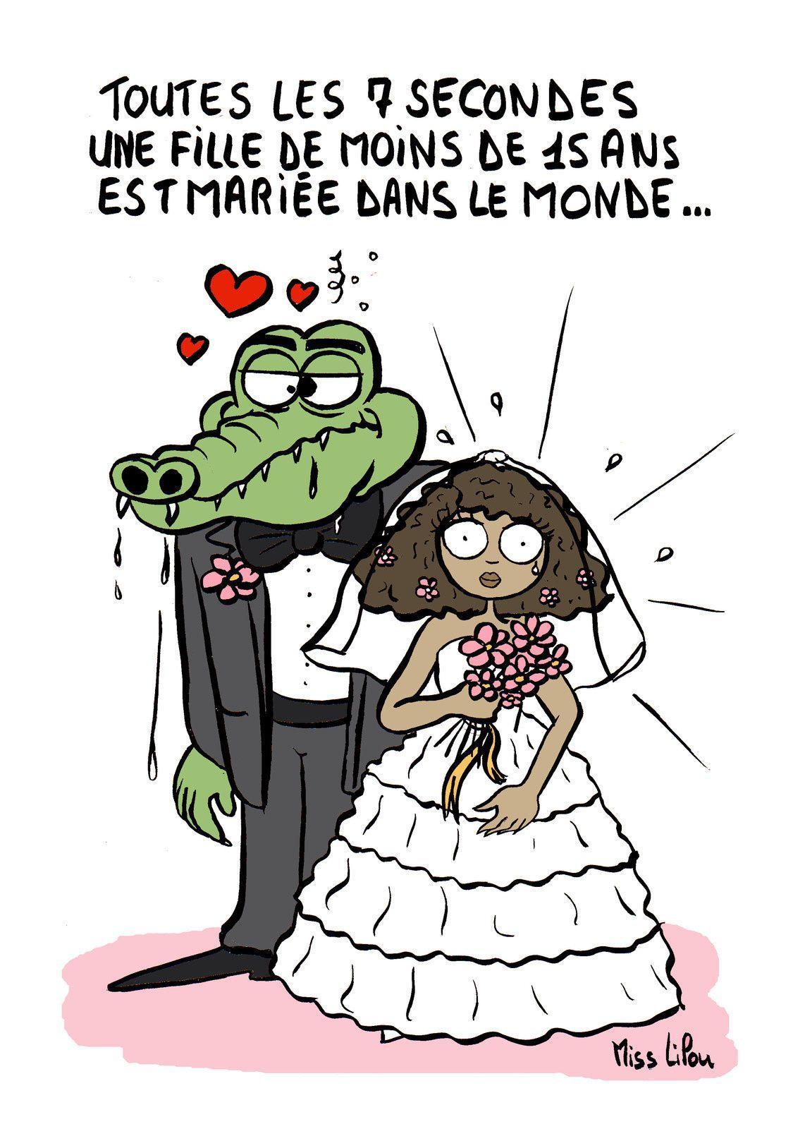 MARIAGE FORCÉ : toutes les 7 secondes une fille de moins de 15 ans est mariée dans le monde...