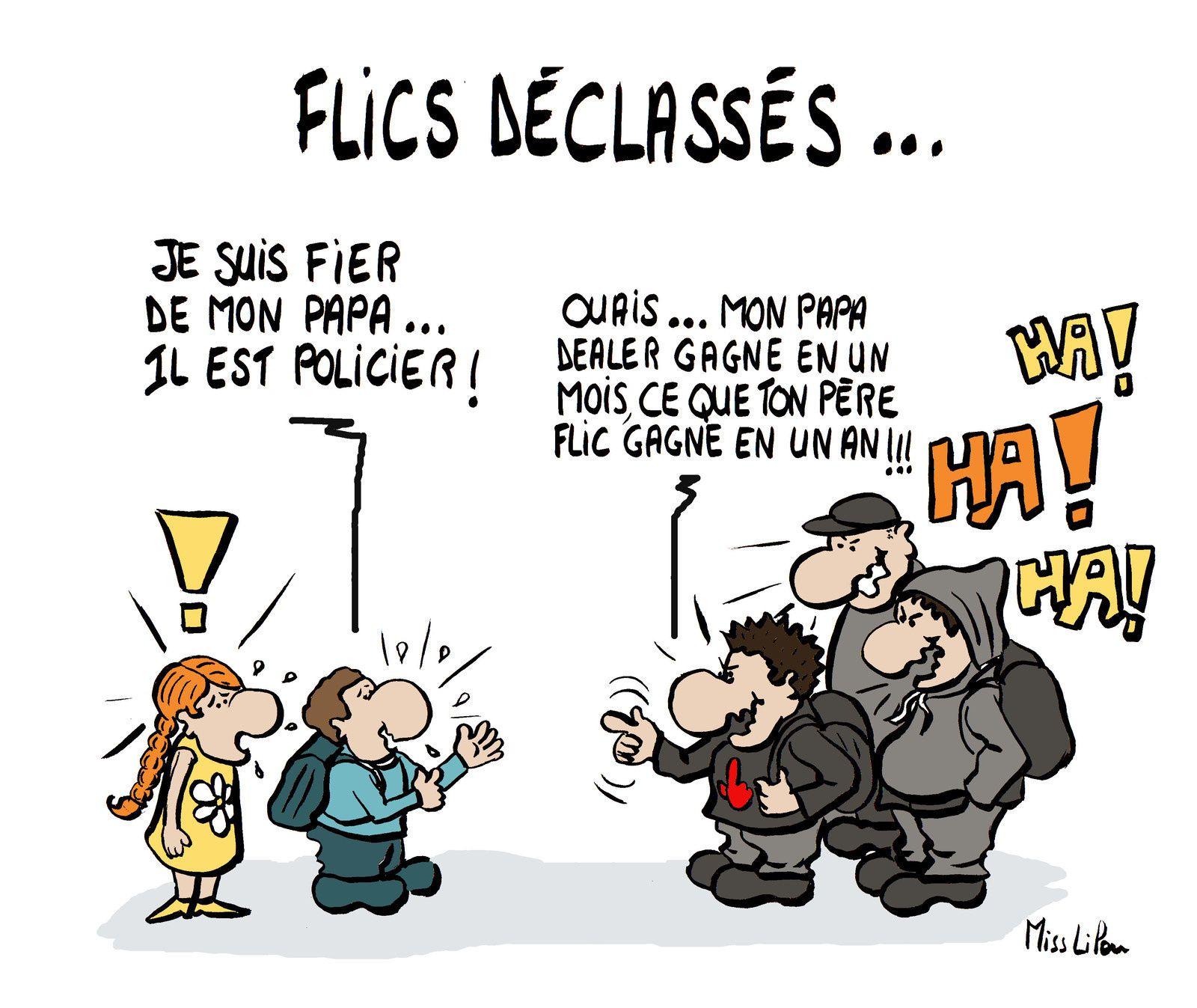 FLICS DÉCLASSÉS...