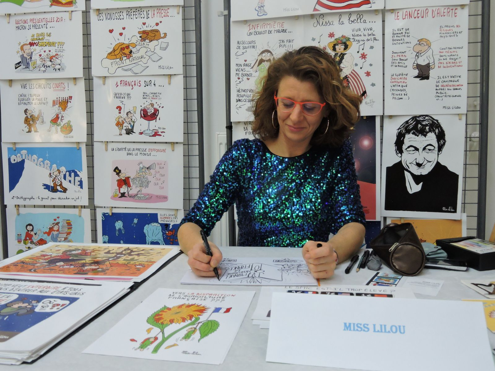 Miss Lilou ( photo : Dominique Fleurence Chailan )