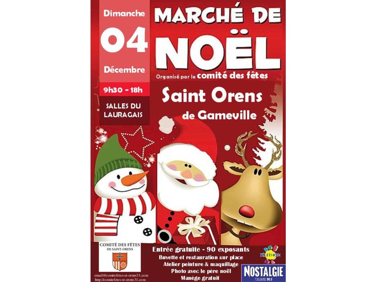 Marché de Noël de Saint-Orens de Gameville ( région toulousaine)