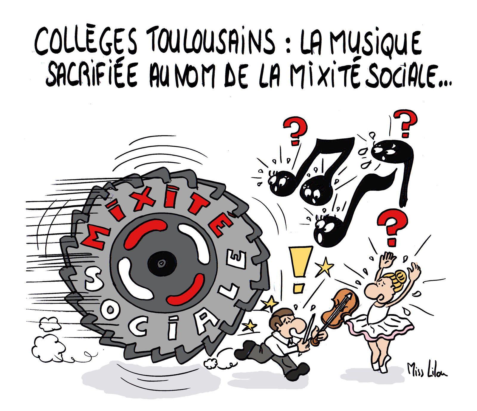 Collèges toulousains : la musique sacrifiée au nom de la mixité sociale...