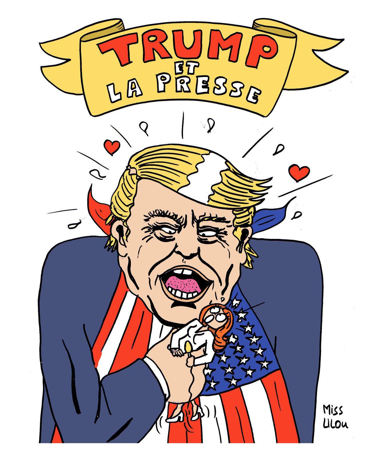 """Les conférences de Presse du nouveau président américain sont très très """"musclées"""" !"""