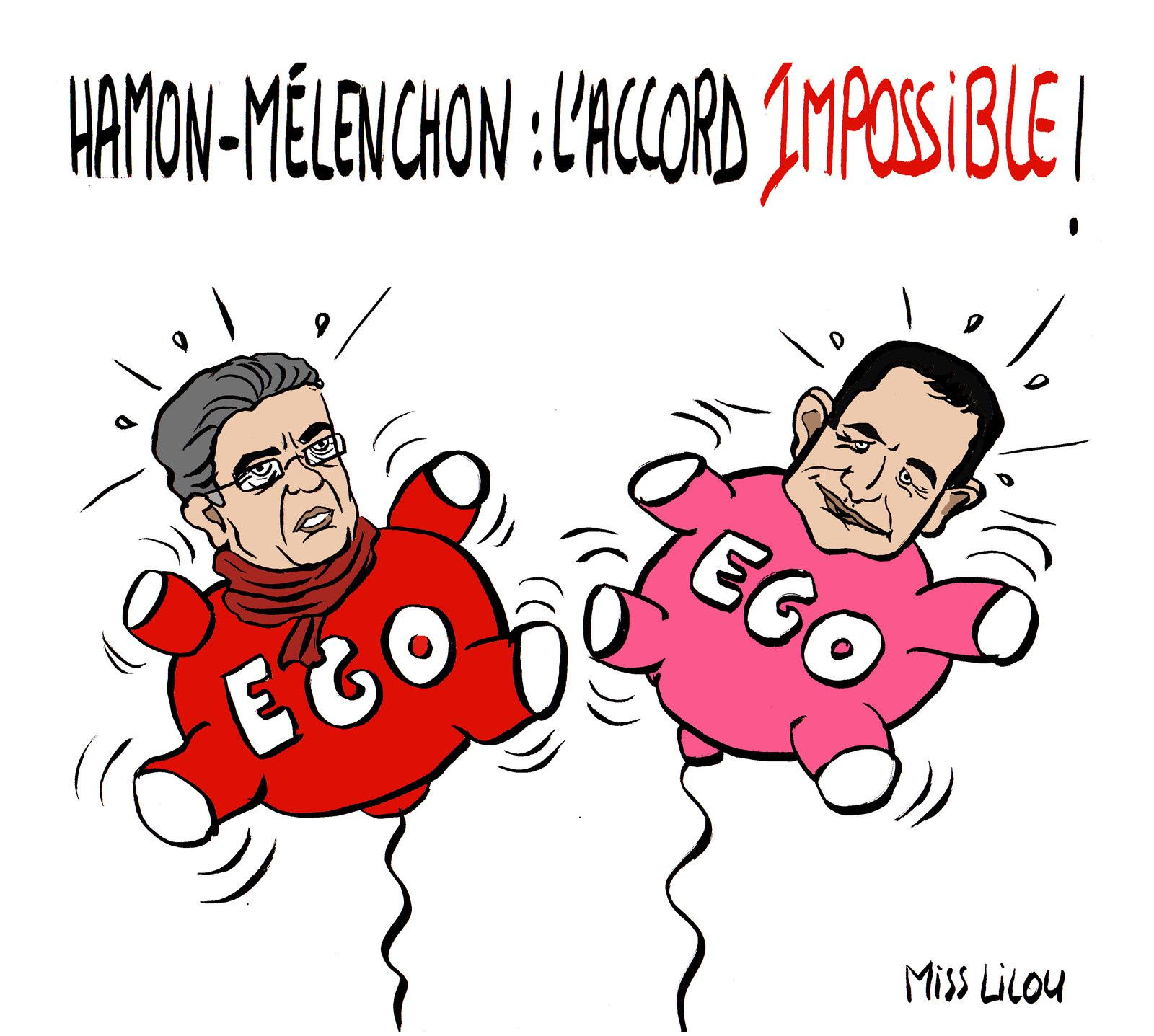 Hamon-Mélenchon : l'Accord impossible !