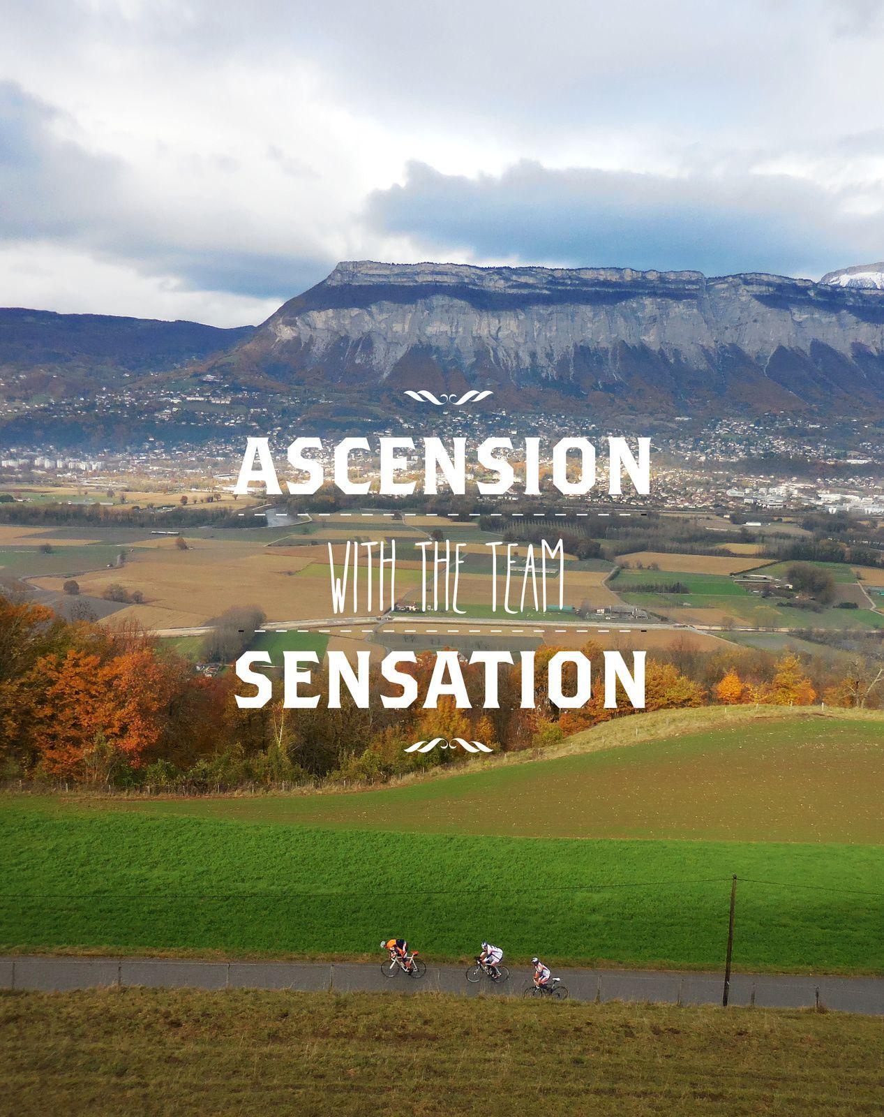 Ascension, sensation !