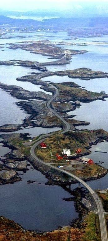 AtlanticRoad through Norway