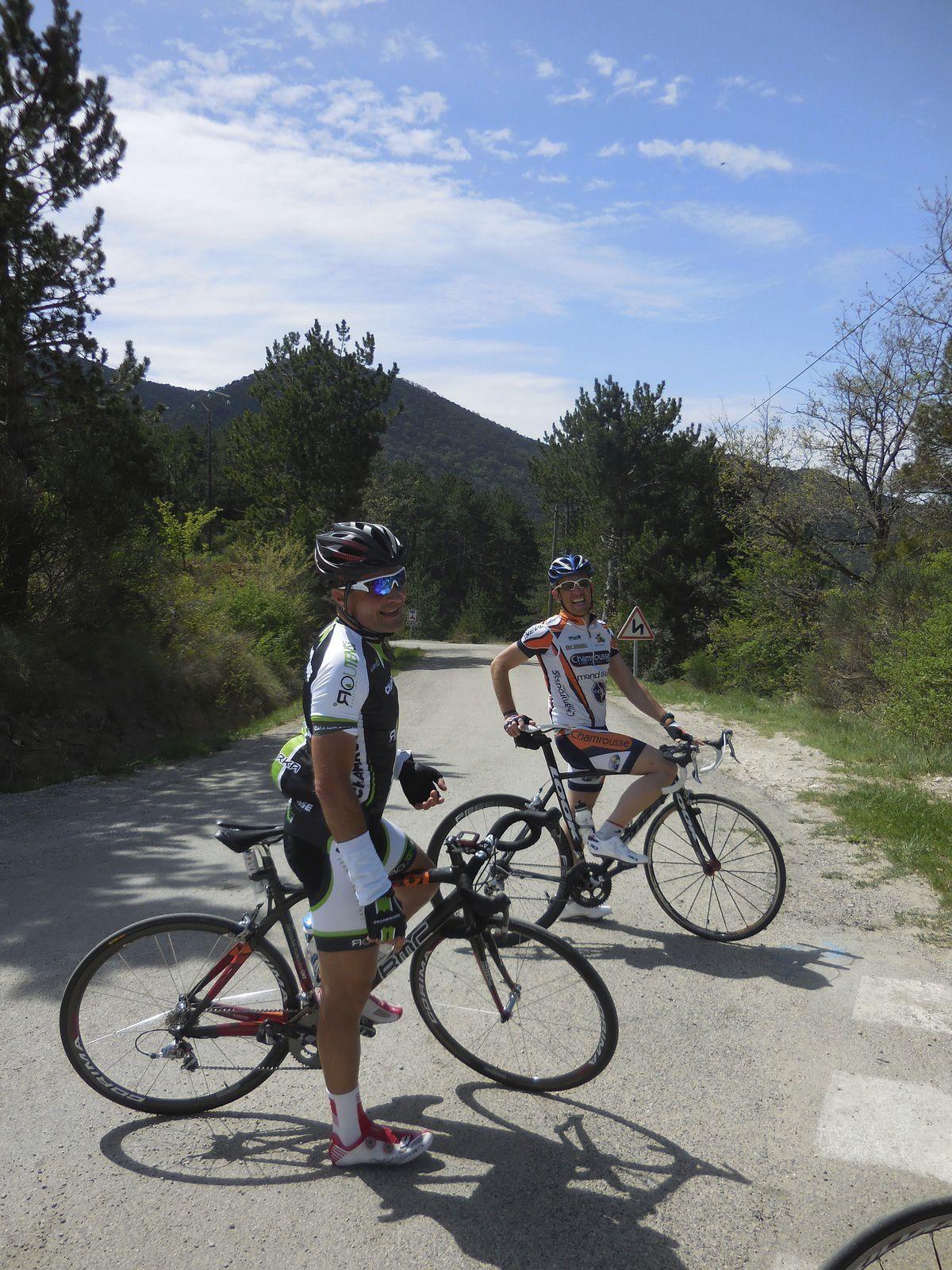 Stage de Nyons, jour 4 du Team Chamrousse