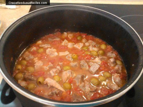 #Sauté de porc à la tomate #Sauté #Porc #Tomates #Viande #Recettes #Recettes du Sud #Recettes faciles