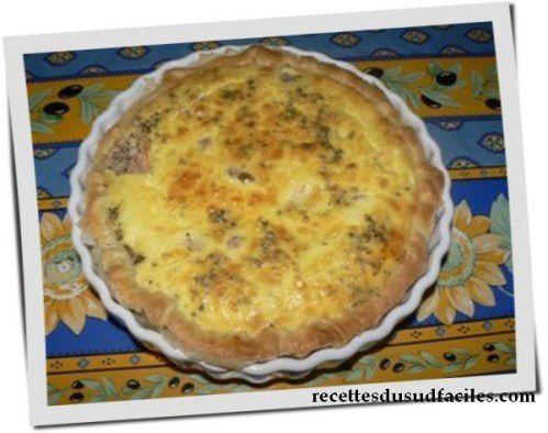 #Quiche tomates mozzarella #Quiche #Tomates #Mozzarella #Tartes, tourtes - quiches #Recettes #Recettes du Sud #Recettes faciles