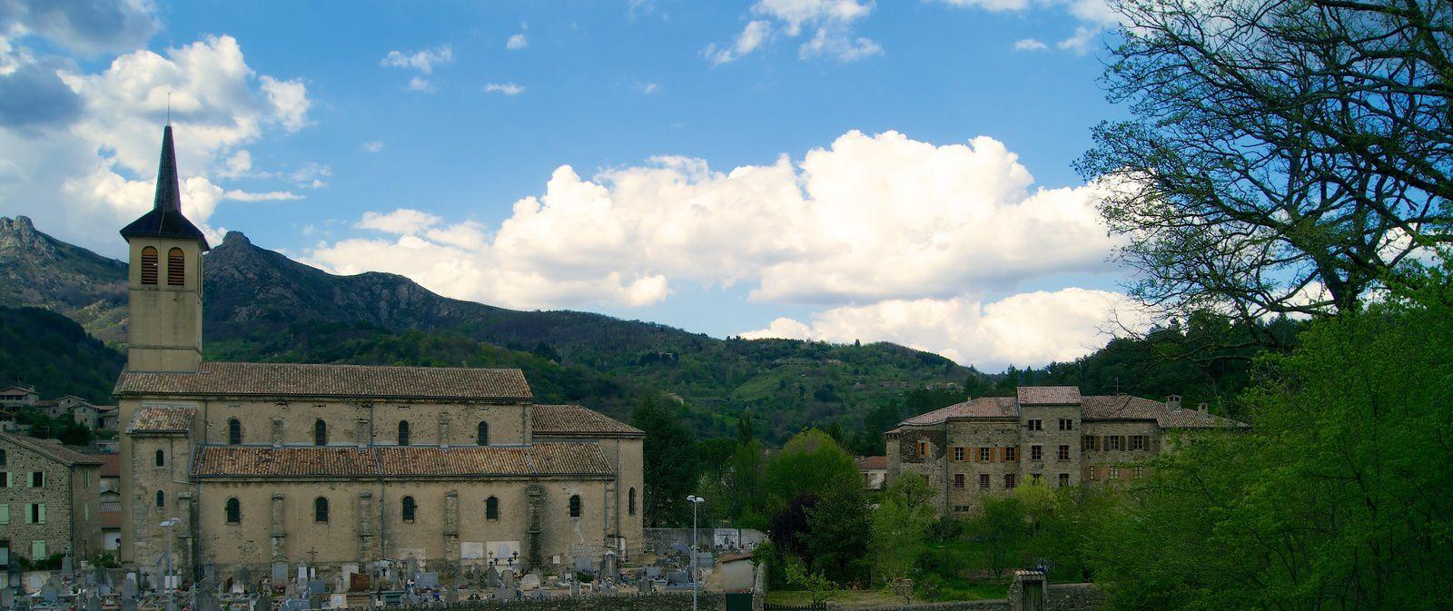 Le village de Jaujac
