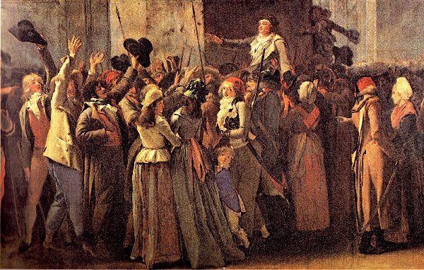 « Le Triomphe de Marat », par Boilly