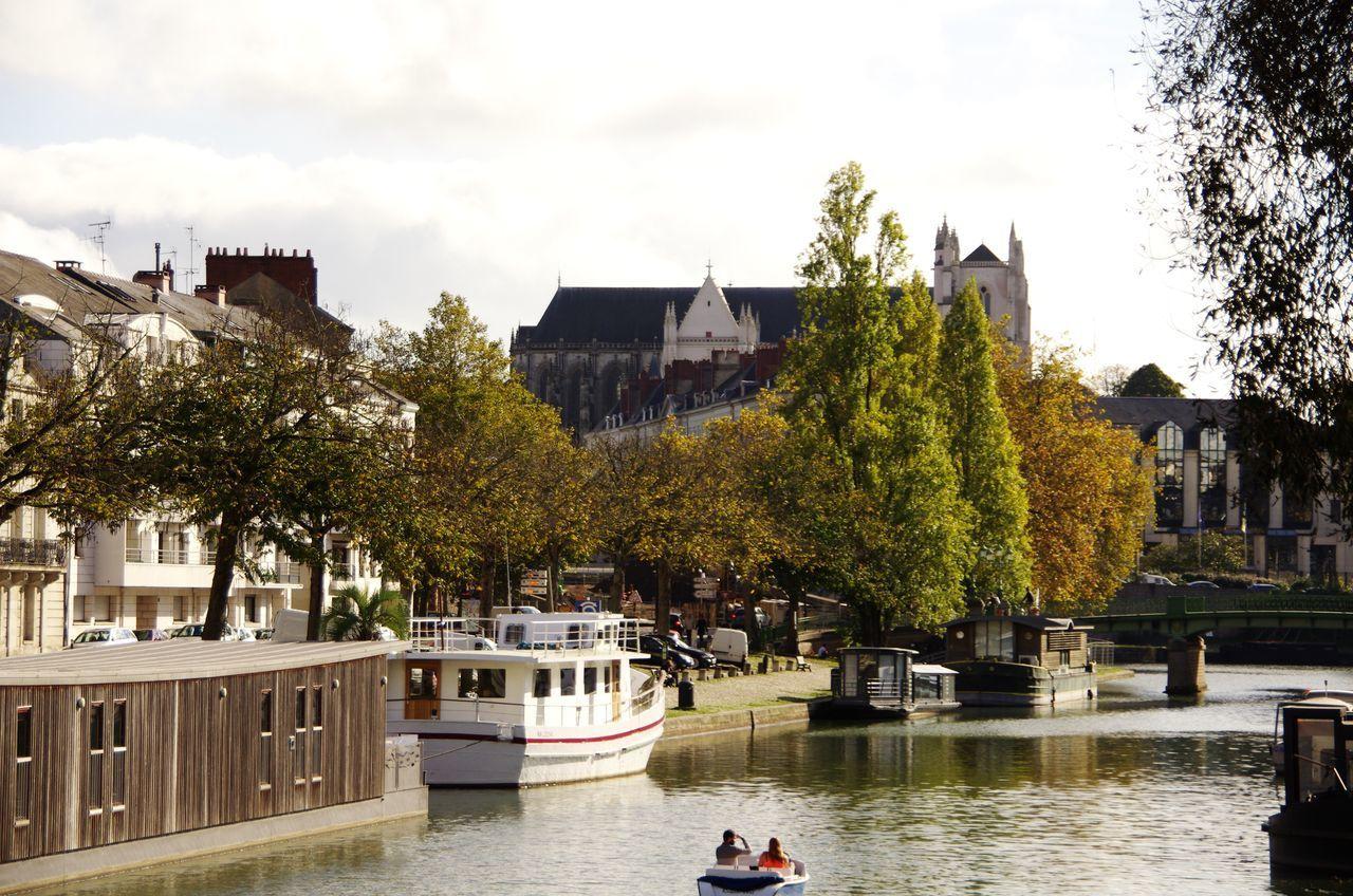 Bord de l'Erdre à Nantes ce 25/10/2014