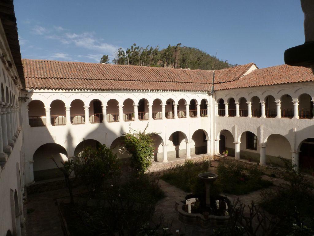 Visite du couvent franciscain de la Recoleta