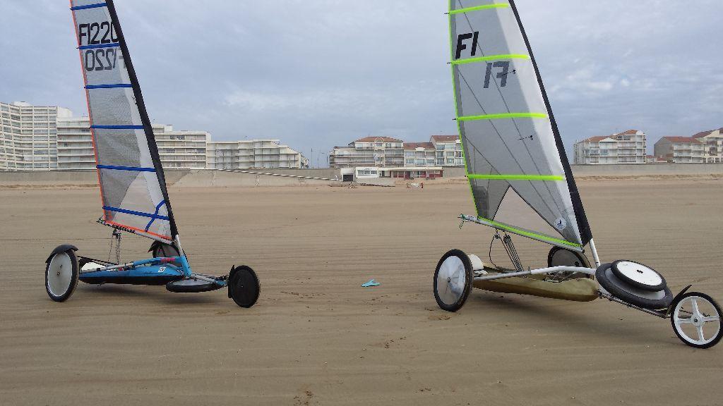 Entrecoupé d'un défi nord avec Luc, mais vent de sud, mais bien amusé quand même !