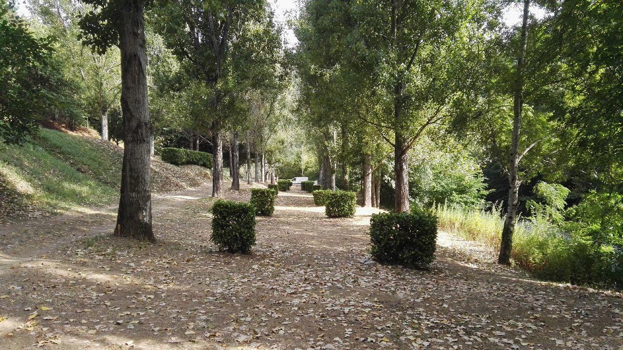 Les Plantiers dans les Cévennes : le camion au fond !