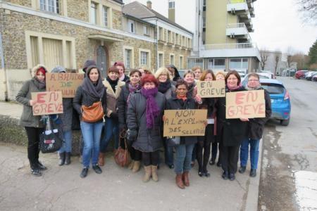 Des salariés de la clinique Priollet en grève