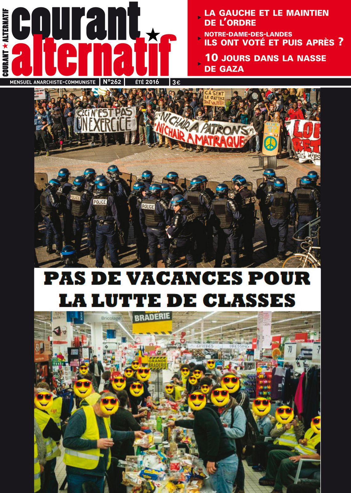 Courant alternatif n° 262 est sorti