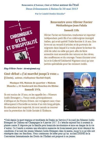 20 mai à Reims : Journée MIE