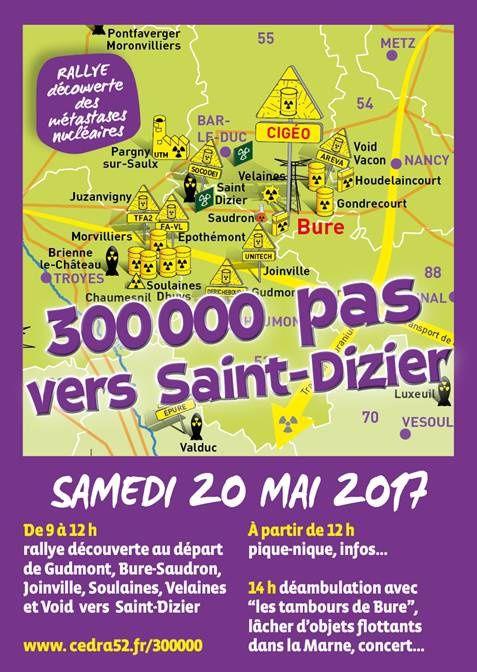300 000 pas vers Saint-Dizier