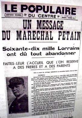 ARTICLE 6 / Un Mosellan expulsé en Zone Libre 1941 / 1942