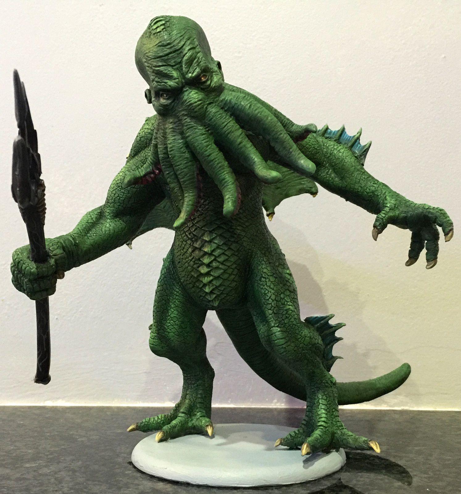 Cthulhu model : Pulp Monster kit