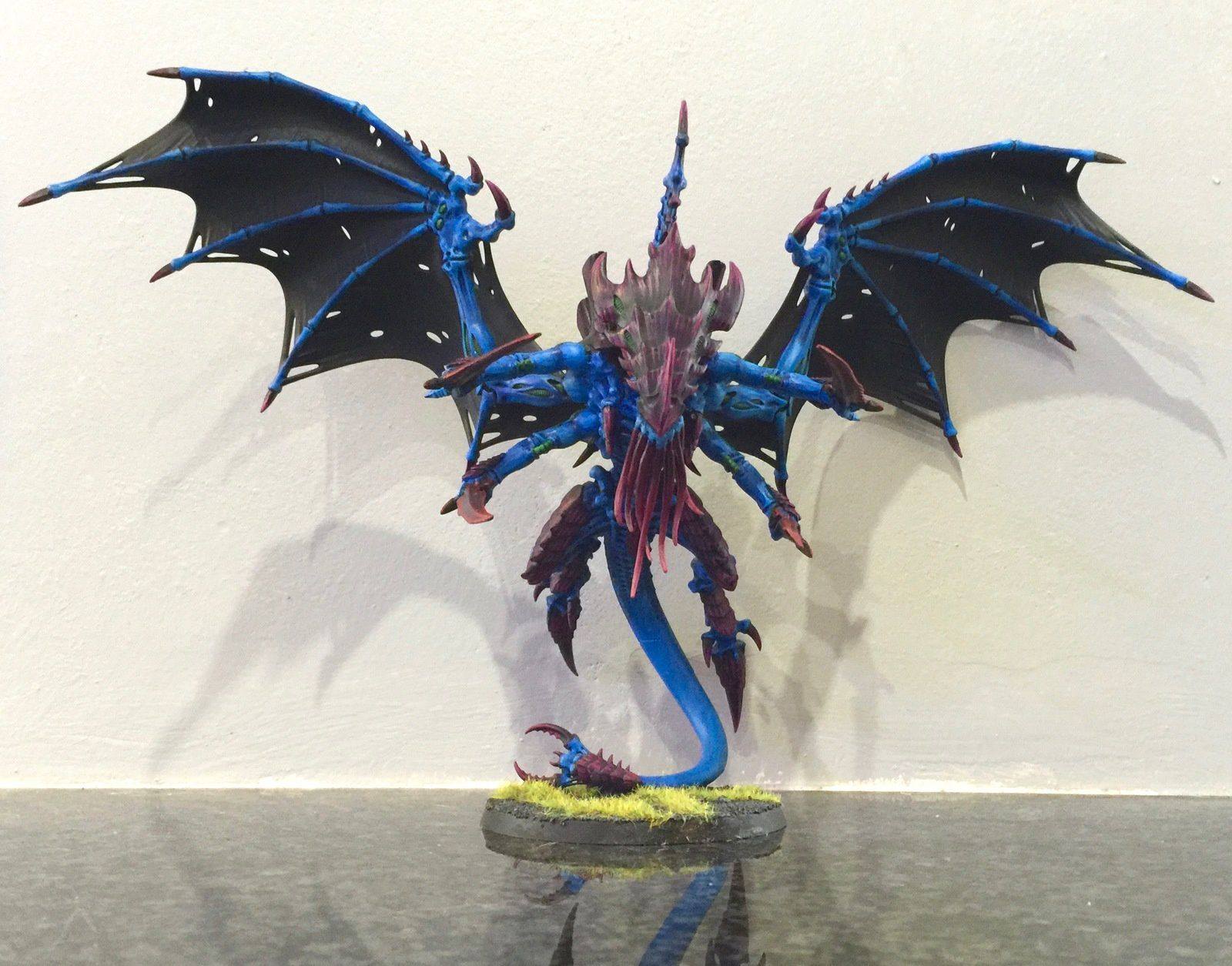 Tyranid Flying Swarmlord from HF Cthulhu painted !